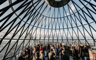 ANDY & ROBERT'S AWESOME GHERKIN WEDDING
