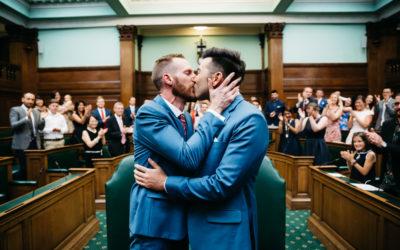 Ben & Julien's Awesome London Wedding
