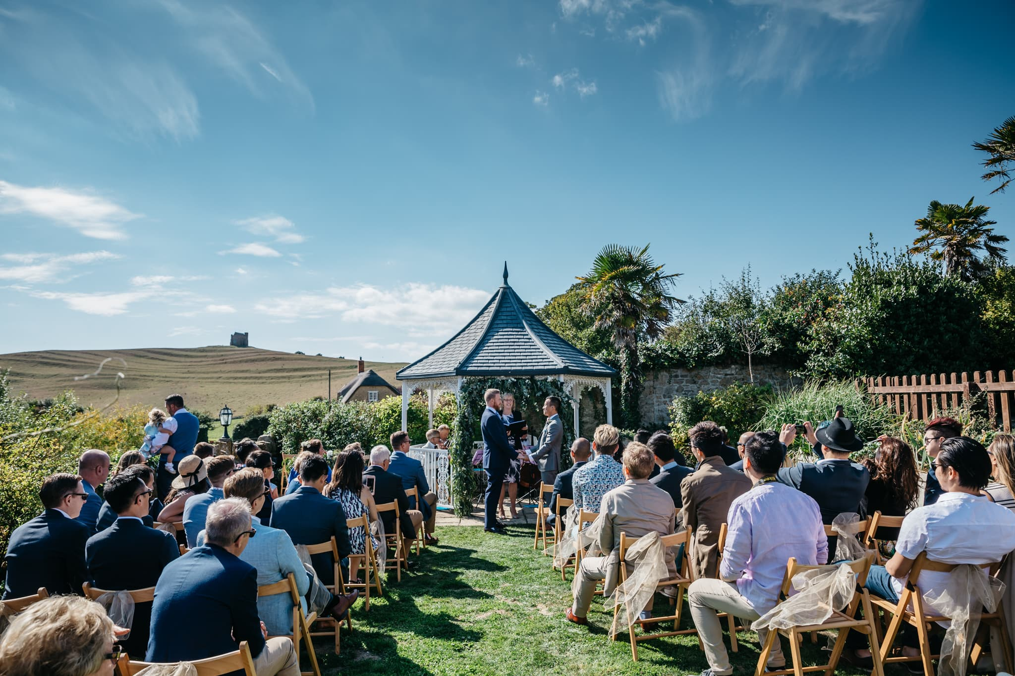 Same sex wedding at the Abbey House in Abbotsbury