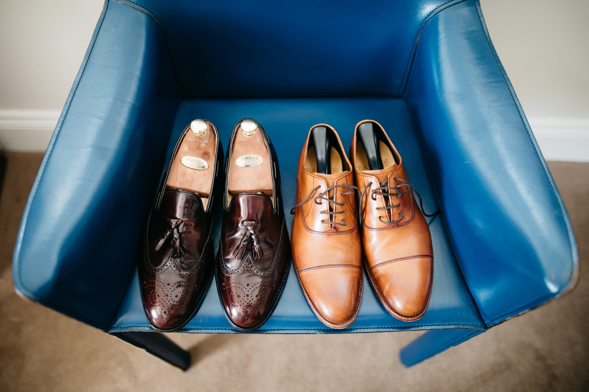 Grooms' shoes