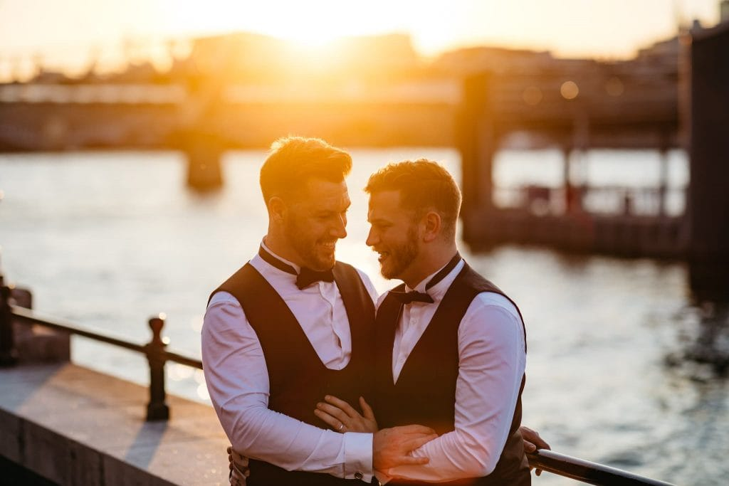 Same Sex wedding Southbank London