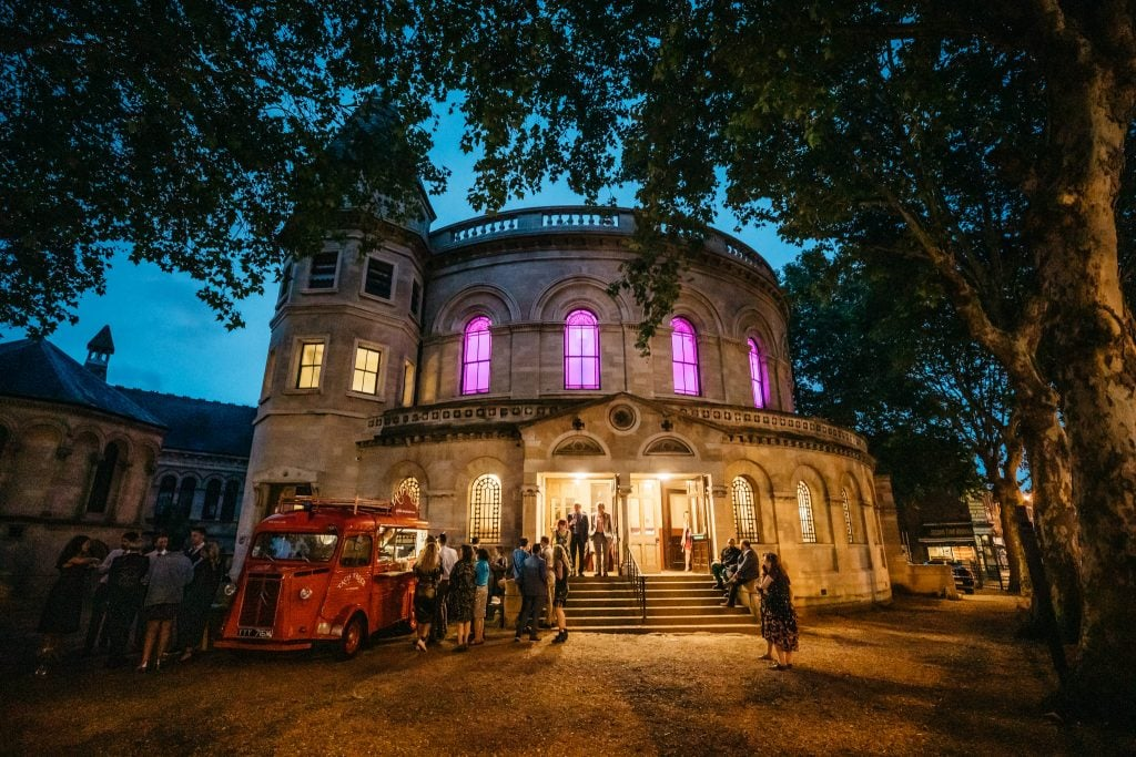 Round Chapel Hackney Wedding