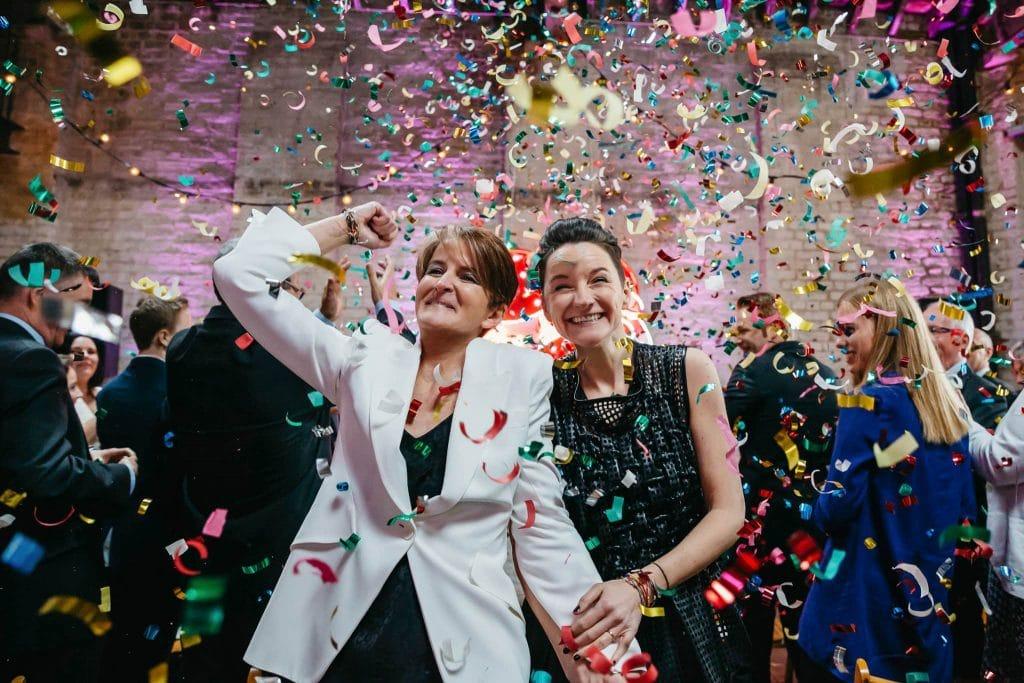Lesbian wedding Brixton